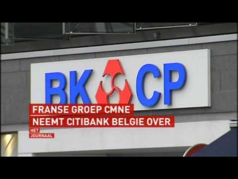 Crédit Mutuel Nord Europe neemt Citibank Belgie over