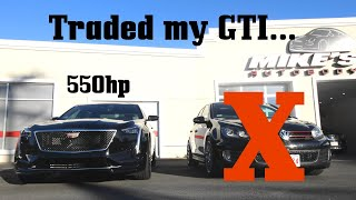 Traded my GTI for a 550hp Cadillac... by Ignition Tube