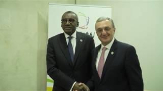 Rencontre entre les Ministres des Affaires étrangères d'Arménie et du Sénégal