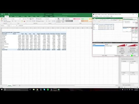 How to Create a Pivot Table using Microsoft Excel 2016