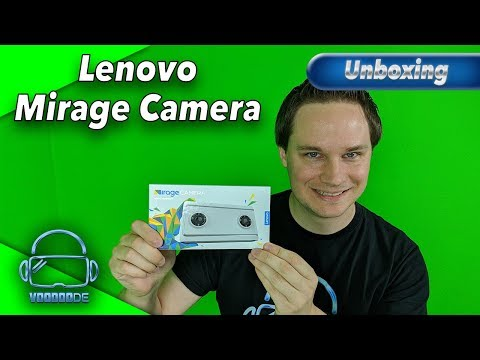 Unboxing Lenovo Mirage Camera -  Die 180 Grad 3D Kamera für VR Filme [Virtual Reality]