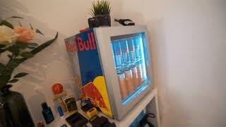 Kleiner Red Bull Kühlschrank : Kleiner kühlschrank видео Видео