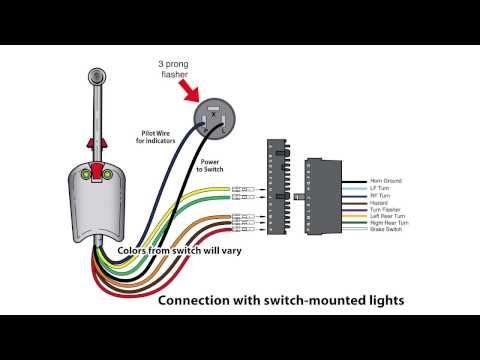 Universal Bolt On Turn Signal Switch Wiring Mp3