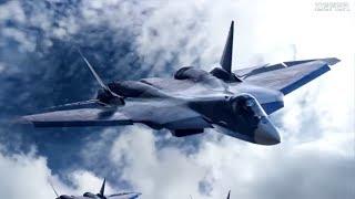 """На что способен истребитель пятого поколения СУ-57. Секреты самолета -""""невидимки"""""""