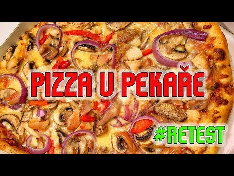 RETEST Pizza U Pekaře - ŽE BY MĚ ZASE ODHALILI?!