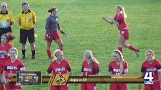 Argos Girls Soccer vs Kankakee Valley