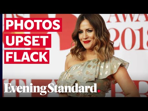 Caroline Flack 'devastated' Lewis Burton had shared bloody image from her assault arrest, inquest he