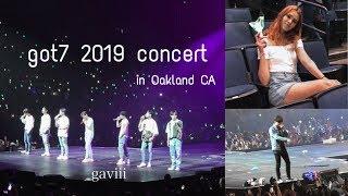 Got7 Keep Spinning Concert in Oakland CA / HD Fancam [Summer 2019]