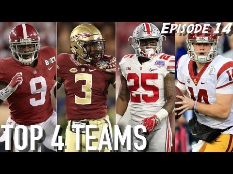 HH SHOW – EP. 14 || Our Way Too Damn Early Top 4 Teams