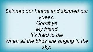 Andy Williams - Seasons In The Sun Lyrics