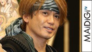 諸星和己、SMAPに「いつでもメンバーになるから!」 解散報道にコメント 舞台「Honganji」公開けいこ2 #Kazumi Morohoshi #Press Conference