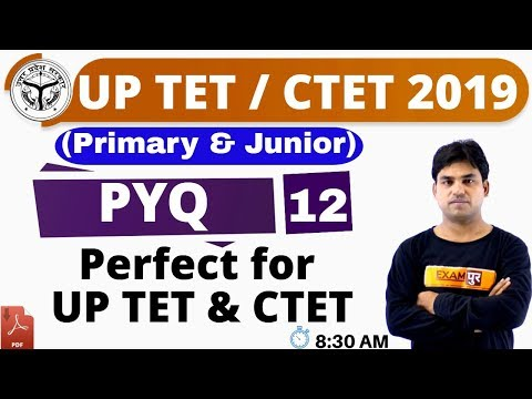 Class 12 || UP TET/ CTET 2019 ||P.Y.Q|| By Anant Sir|| Perfect for UP TET & CTET