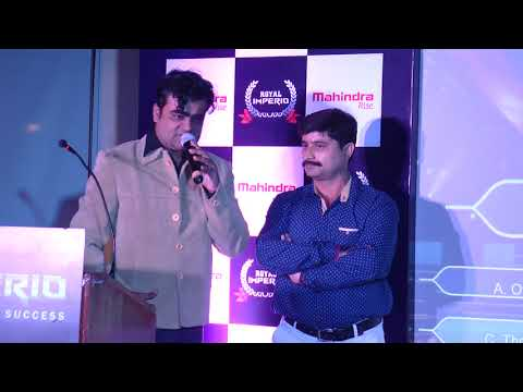 anchoring in mahindra imperio event
