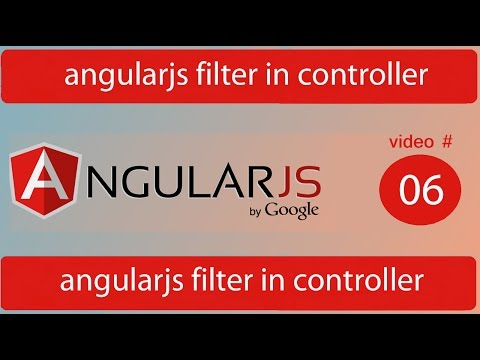 angularjs filter in controller