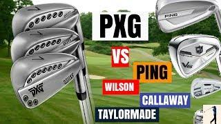 PXG GEN 2 IRONS VS TAYLORMADE P790, CALLAWAY ROGUE PRO, PING G700 & WILSON V6