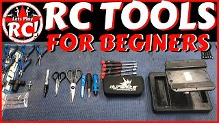 RC TOOLS FOR BEGINNERS (What do you need) /Lets Play RC!