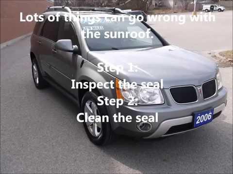 Pontiac Torrent Sunroof Car Forums At Edmunds Com