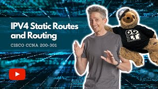 Configure and Verify IPv4 Static Routes and Routing | Cisco CCNA 200-301
