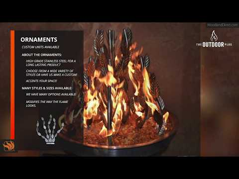 Fire Ornaments by The Outdoor Plus