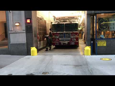 FDNY RESCUE 1 RESPONDING URGENTLY FROM QUARTERS TO A 10-75 ALL HANDS FIRE IN MANHATTAN, NYC. Mp3