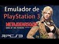 Emulador De Ps3 Para Pc Metal Gear Solid 4 En Espa ol