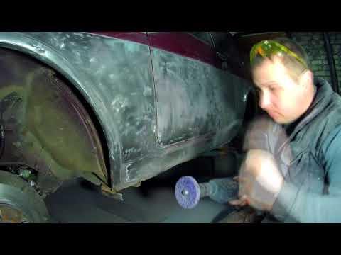 Восстановление  НИВЫ 21214 кузовной ремонт, начало проекта