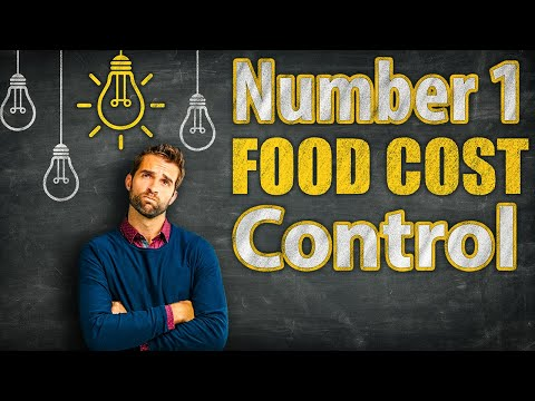 #1 Food Cost Control for Independent Restaurants