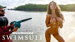 Alexis Ren's Hips Don't Lie Behind The Scenes Of Her Sexy SIS Debut | Sports Illustrated Swimsuit