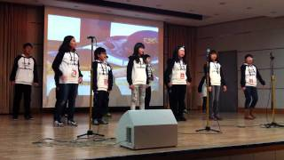 Happy by Mocca - performed by Korean elementary school students