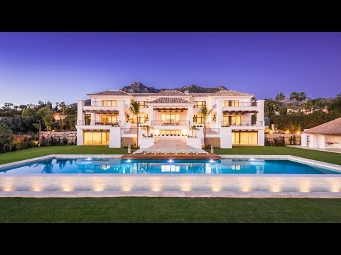 Luxury Villa in Sierra Blanca, Marbella Golden Mile, Spain | Drumelia