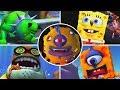 Spongebob amp Nicktoons: Globs Of Doom All Bosses