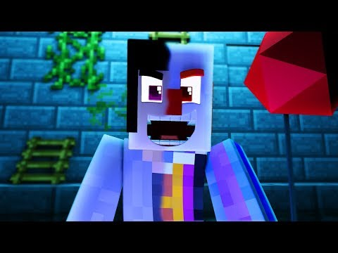 Pennywise Rp Roblox Minecraft The It Becoming Pennywise The Killer Clown Minecraft Scary Roleplay Minecraftvideos Tv