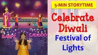 5 days of Diwali Celebration in 5 minutes! | How to & Why We Celebrate Indian Festivals