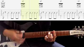 Guitar TAB : Some Other Guy (Rhythm Guitar) - The Beatles