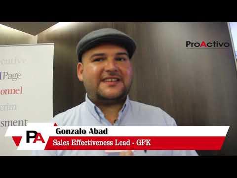 Entrevista a Gonzalo Abad- Sales Effectiveness Lead de GFK
