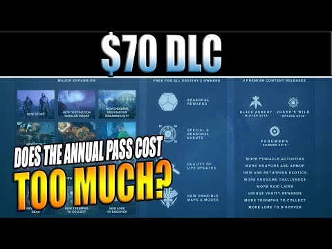 Destiny 2 | Is the Annual Pass for The Forsaken DLC TOO EXPENSIVE?