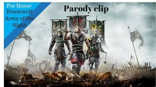 For Honor-Powerwolf-Army of the Night
