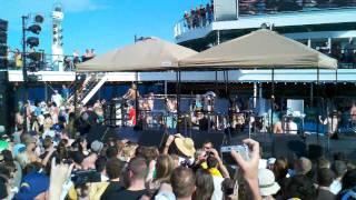 Wild Nights & Time Bomb (new songs) - 311 Cruise - 3/6/11