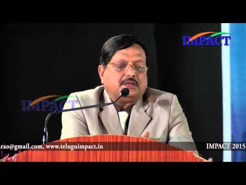 How to come up in life  Yandamuri Veerendranath   TELUGU IMPACT HYD SEPT 2015