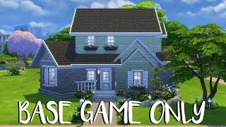 The Sims 4: Speed Build - BASE GAME ONLY