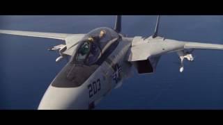 F14 Tomcat Versus Mitsubishi A6M Zero