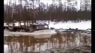 Русская техника и русское бездорожье!!!