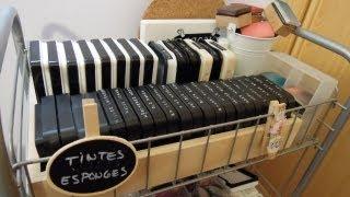 Organización para manualidades. Cómo organizar Tintas, rotuladores y sus complementos