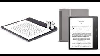 Amazon Kindle Oasis 3 vs Kobo Forma Comparison
