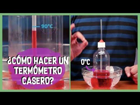 Cómo hacer un termómetro casero