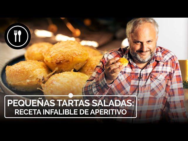 Cómo hacer TARTAS SALADAS, la receta infalible de APERITIVO
