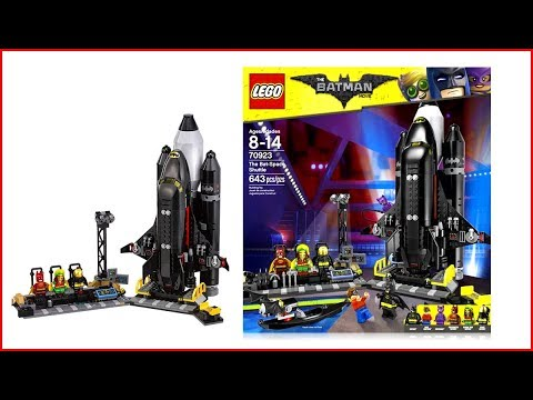 Vidéo LEGO The Batman Movie 70923 : La Bat-Fusée