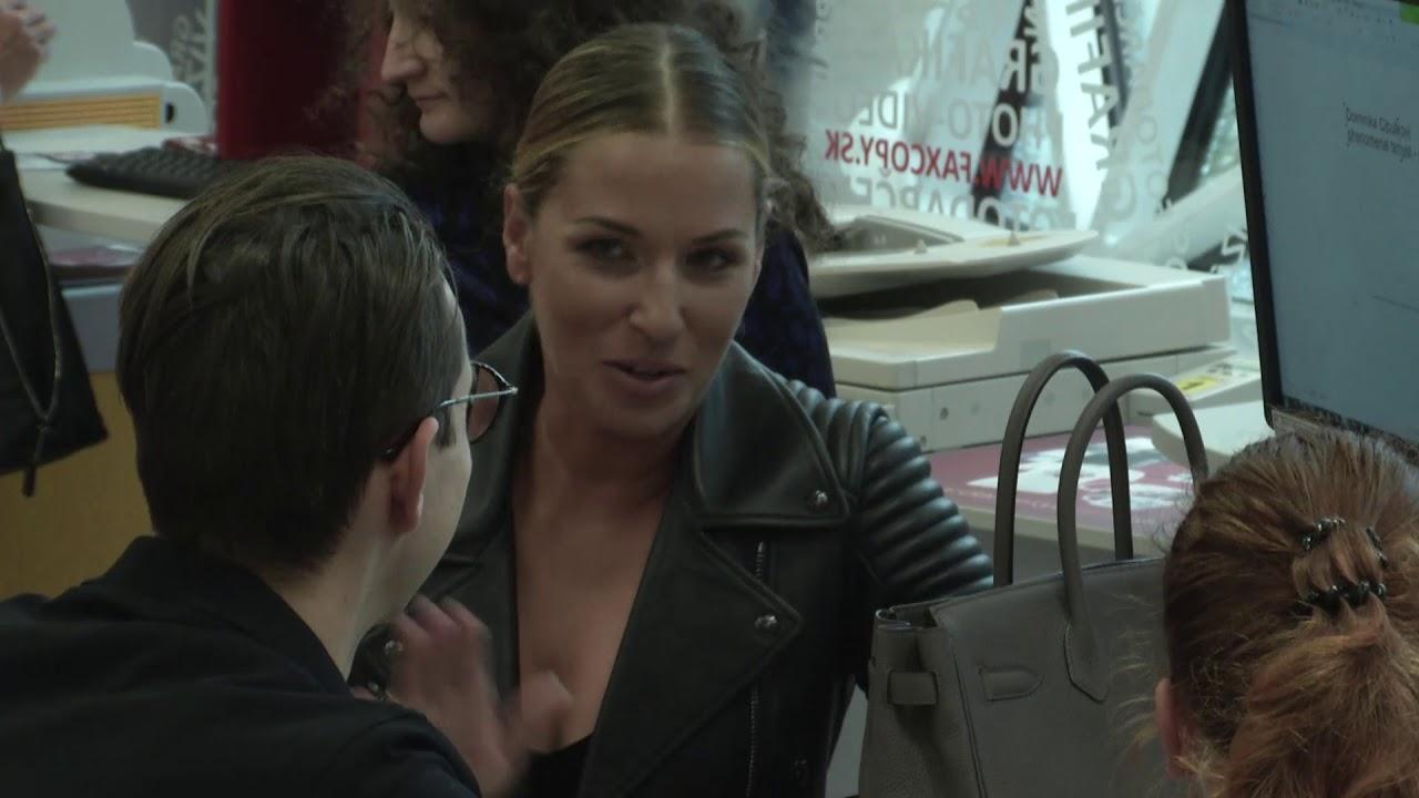 Dominika Cibulková vyvádzala v obchode. Zachytila to skrytá kamera
