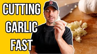 How To Cut Garlic (Peel Cloves Quickly) Cooking Knife Skills
