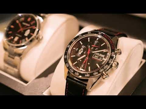 Les montres exclusives du Standard de Liège et de Louis Erard